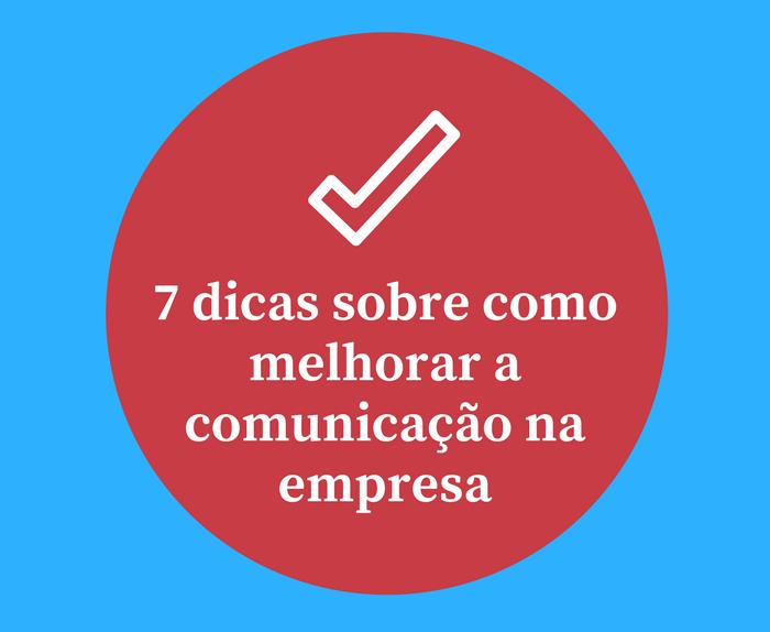 Dicas sobre comunicação na empresa