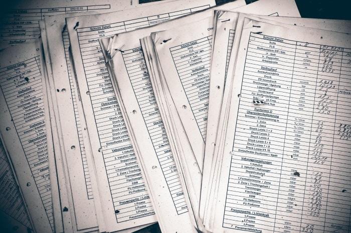Armazenamento de documentos no organizador de tarefas
