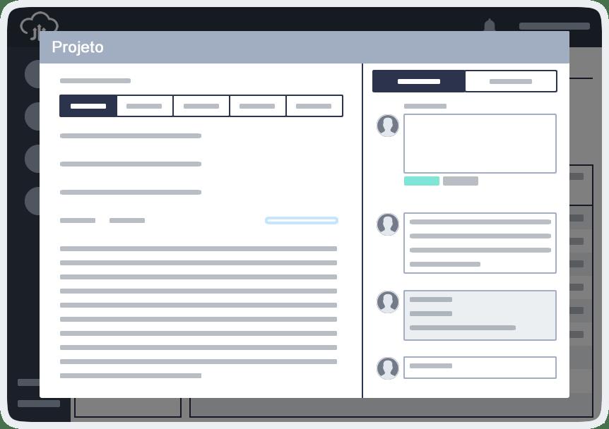 Comunicação integrada em projetos visualizar