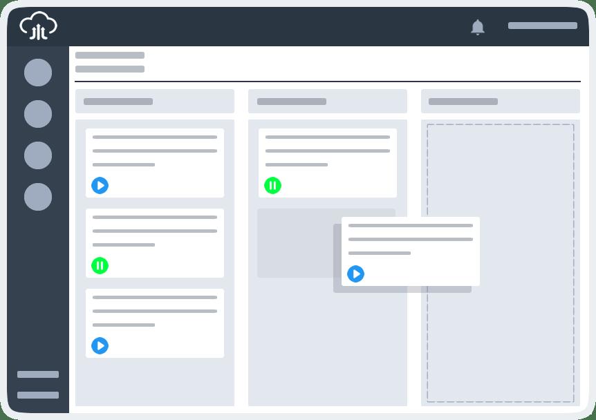 Desconto sistema de gestão de projetos online visualizar kanban